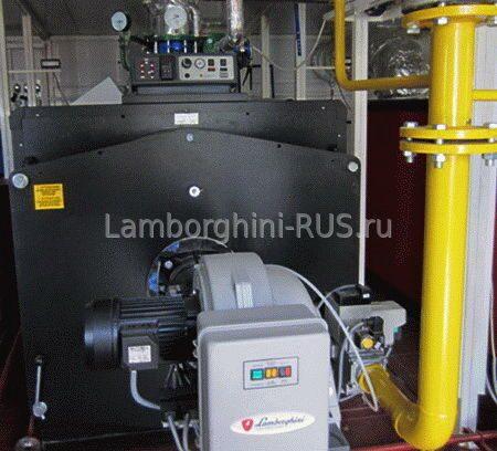 Стальной водогрейный котел Mega Prex N250 для работы на жидком и газ-о
